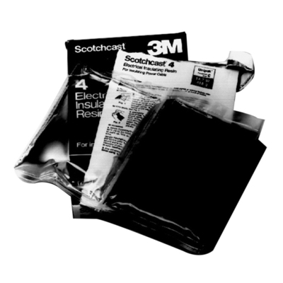 3M 4C 3M 4C Scotchcast™ Electrical Epoxy Insulating Resin; 14.6 oz, 2-Part Pouch, Black