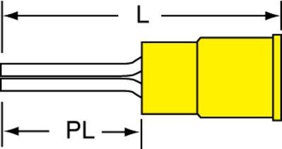 3M MVU10-55PX-A MVU10-55PX-A 3M VNL INSD PIN TERM