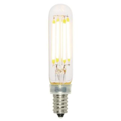 Angelo Brothers Co 5168000 5168000 WESTINGHOUSE 4.5W T6 FILAMENT LED DIMMABLE CLEAR 2700K E12 (CANDELABRA) BASE, 120 VOLT, BOX