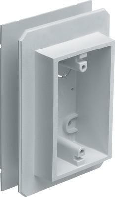 Arlington Fittings FS8091F Arlington FS8091F Weatherproof Flanged Outlet Switch Box; 19.4 cu. in., 1 Gang, White