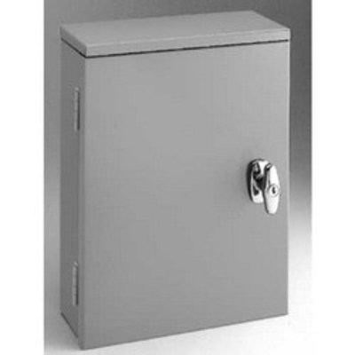 B-Line 36366 Cooper B-Line 36366PBRTC Telephone Termination Cabinet Without Knockouts; NEMA 3R, 36 Inch x 6 Inch x 36 Inch, 13 Gauge Galvanneal Steel, ANSI 61 Gray, Acrylic Electrocoat Finish