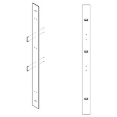B-Line SB571CVR6084 Cooper B-Line SB571CVR6084 Cabling Section Cover; Black, Acrylic Plexi Glass