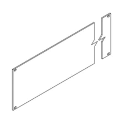 B-Line SB5771902FB Cooper B-Line SB5771902FB Blank Panel; Aluminum, Black
