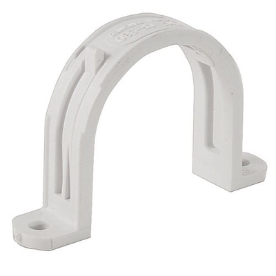 Broan Nu-Tone CF380 Broan Nu-Tone CF380 Fixing Spring Pipe Support with Wire Clip, Polymer, White