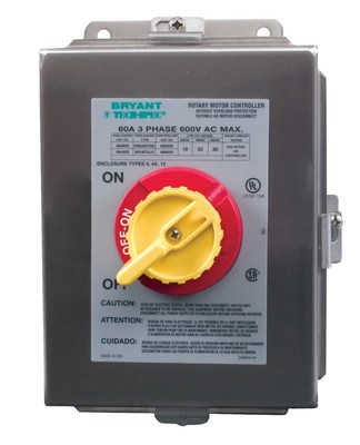 Bryant Electric Co 664S63D 664S63D BRYANT 60A 600V 3P RTRY DISC SW 4X SS