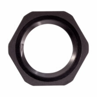 Cooper Crouse-Hinds 10N Midwest 10N Non Metallic Locknut; 3/8 Inch, Nylon