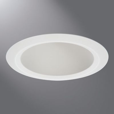 Cooper Lighting by Eaton 5121WH 5121WH COOPRLTG 5IN SHALLOW FULL CONE WHITE REFLECTOR WHITE SELF-FLANGE RING