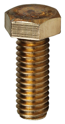 Dottie Co L.h. MBBZ14112 L.H. Dottie MBBZ14112 Hex Head Tap Bolt; 1/4-20, 1-1/2 Inch Length, Silicon Bronze