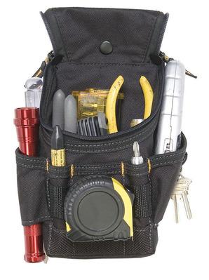 Dottie Co L.h. 1523 L.H. Dottie 1523 Ziptop™ Small Utility Pouch; 6 Pocket, Zipper, Polyester Fabric