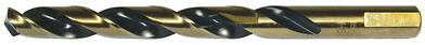 Dottie Co L.h. HS7 L.H. Dottie HS7 HSS 3-Flat Shank Split Point Jobber Length Drill Bit; 7/64 Inch, 2-5/8 Inch OAL, Black and Gold Oxide