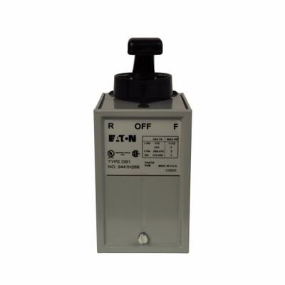 Eaton / Cutler Hammer 9441H361 Cutler Hammer 9441H361 Reversing Drum Switch, 200 - 230 VAC, 3-Pole, Surface Mount