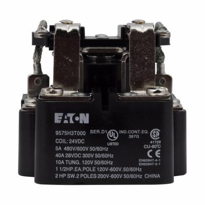 Eaton / Cutler Hammer 9575H3K000 9575H3K000 EATON GENERAL PURPOSE RELAY, DPDT, 12V 60/50HZ
