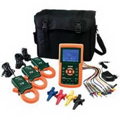 Extech 382100 FLIR (Extech) 382100 1-Phase Power Analyzer/Datalogger; 600 Volt RMS, 1200 Amp