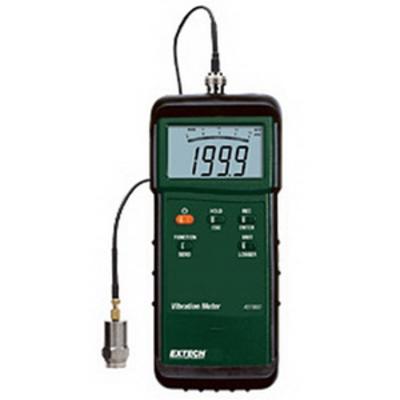 Extech 407860 Extech 407860 Vibration Meter; 10 Hz - 1 kilo Hz, +/-(5% + 2 digits)