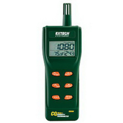 Extech CO250 FLIR (Extech) CO250 Portable Indoor Air Quality CO2 Meter; Backlit Triple LCD Display