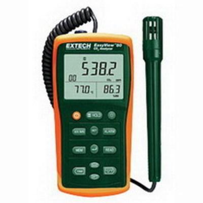 Extech EA80 FLIR (Extech) EA80 EasyView™ Indoor Air Quality Meter/Datalogger; 10 - 95% Humidity, 20 to 60 deg C Temperature