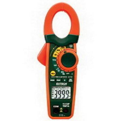Extech EX730 FLIR (Extech) EX730 True-RMS AC/DC Current Clamp Meter; 0.1 Milli-Volt AC/DC/600 Volt AC/DC, 0.1 - 800 Amp DC