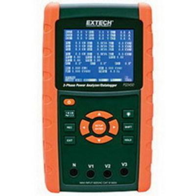 Extech PQ3450 FLIR (Extech) PQ3450 3-Phase Power Analyzer/Datalogger; 3000 Amp, 1 Power Factor, 600 Volt AC