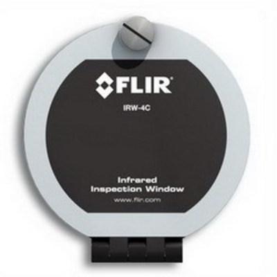 FLIR 19252-100 FLIR (Extech) IRW-4C 4 Inch Infrared Inspection Window; Calcium Fluoride Optic