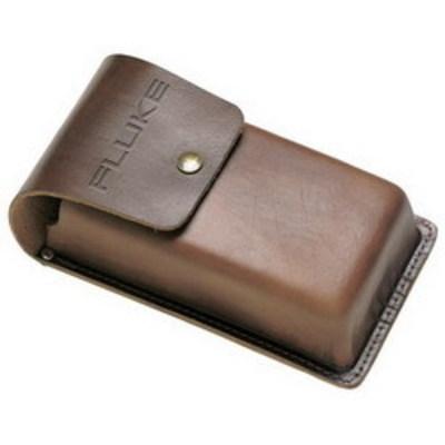 Fluke C510 Fluke C510 Meter Carrying Case; Button Snap, Leather, Brown
