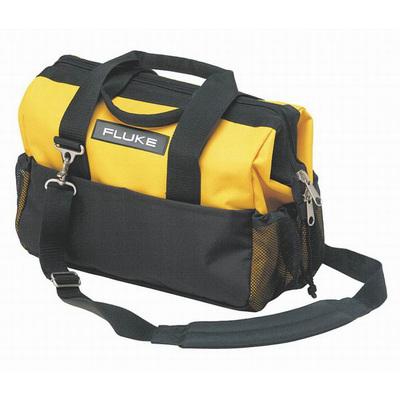 Fluke C550 Fluke C550 Tool Bag; Steel and Polyester, Yellow/Black, 25 Pockets