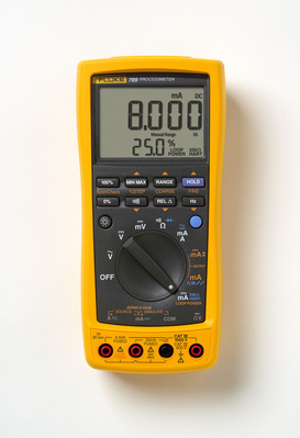 Fluke FLUKE-789 Fluke FLUKE-789 Process Meter; 0 - 1000 Volt AC/DC, 0 - 1 Amp AC/DC, 40 mega-ohm