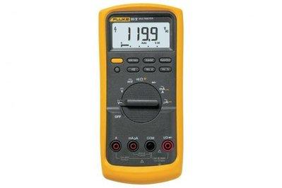 Fluke FLUKE-83-5 Fluke FLUKE-83-5 Industrial Digital Multimeter; 1000 Volt AC/DC, 10 Amp AC/DC, 50 mega-ohm
