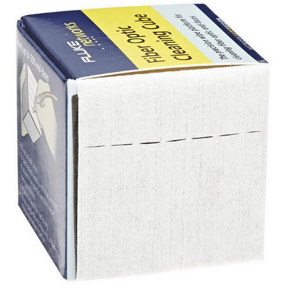 Fluke NFC-CUBE Fluke NFC-CUBE Fiber Optic Cleaning Cube With Wipers; 2 Inch x 2 Inch