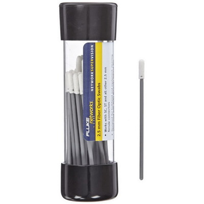 Fluke NFC-SWABS-2.5MM Fluke NFC-SWABS-2.5MM Port Cleaning Swab; 2.5 mm, Polyurethane Sealed Foam