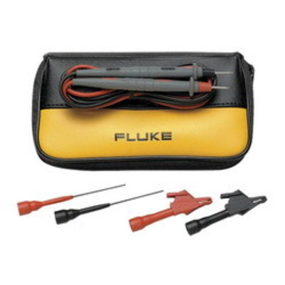 Fluke TL80A Fluke TL80A Basic Electronic Silicone Insulated Test Lead Set; Red/Black