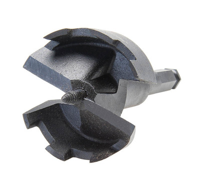 Greenlee 149H2-2-1/4 Greenlee 149H2-2-1/4 E-Z Bore® Self Feed Wood Boring Bit; 2-1/4 Inch Dia x 5 Inch Length, Hex Shank, Carbon Alloy