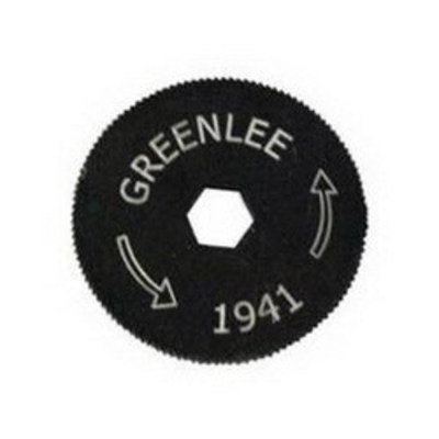 Greenlee 1941-1 Greenlee 1941-1 Replacement Cutting Blade; 3/8 Inch BX Cable, Steel