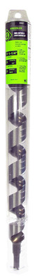 Greenlee 66PT-1-1/4 Greenlee 66PT-1-1/4 Nail Eater® Extreme Shorty Wood Boring Auger Bit; 1-1/4 Inch, 18 Inch OAL, 15 Inch Flute