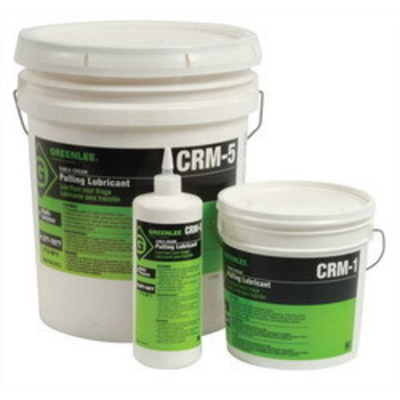 Greenlee CRM-5 Greenlee CRM-5 Cable-Cream® Non-Hazardous Cable Pulling Lubricant; 5 gal, Opaque/Yellow