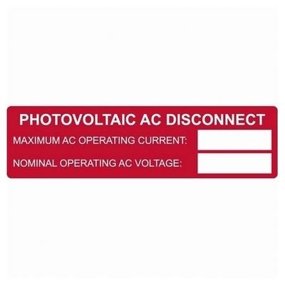 Hellermann Tyton 596-00652 596-00652 TYTON PRNTBL SOLAR, PV AC RATING,1X3.75,50