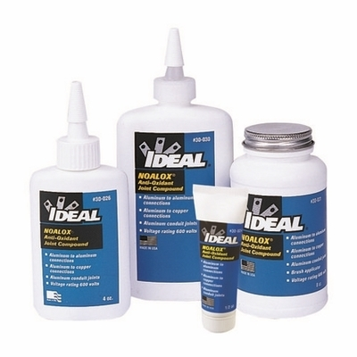 Ideal 30-024 Ideal 30-024 Noalox® Anti-Oxidant Compound; 0.5 oz, Tube, Gray