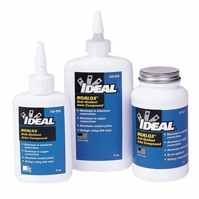 Ideal 30-031 Ideal 30-031 Noalox® Anti-Oxidant Compound; 8 oz, Bottle With Brush In Cap, Gray