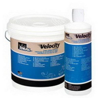 Ideal 31-276 Ideal 31-276 Velocity™ Non-Flammable Cable Pulling Lubricant; 1 qt, Squeeze Bottle, Ivory Translucent