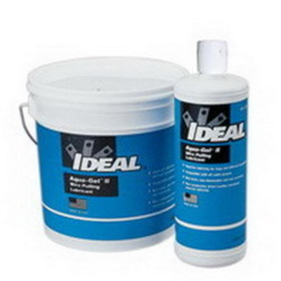 Ideal 31-371 Ideal 31-371 Aqua-Gel® II Non-Flammable Cable Pulling Lubricant; 1 gal, Bucket, Clear Blue