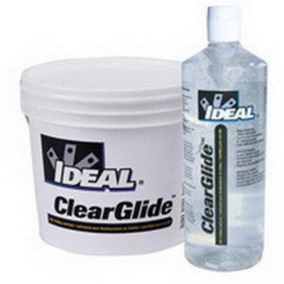 Ideal 31-385 Ideal 31-385 ClearGlide™ Non-Flammable Wire Pulling Lubricant; 5 gal, Bucket, Clear