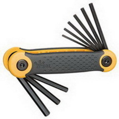 Ideal 35-146 Ideal 35-146 Hex Key Set; 5/64 Inch, 7/64 Inch, 1/8 Inch, 9/64 Inch, 5/32 Inch, 3/6 Inch, 7/32 Inch and 1/4 Inch, 8650 Steel
