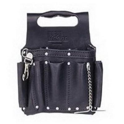 Ideal 35-950BLK Ideal 35-950BLK Tuff-Tote™ Tool Pouch; 2-1/4 Inch Depth, 8 Pocket, Premium Leather, Premium Black