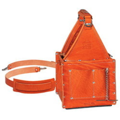 Ideal 35-975 Ideal 35-975 Tuff-Tote™ Ultimate Tool Carrier With Shoulder Strap; Premium Leather, 4 Pockets
