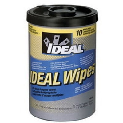 Ideal 38-500 Ideal 38-500 Monster Wipes™ Multi-Purpose Towel; Fabric, Light Yellow, Translucent