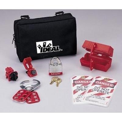 Ideal 44-973 Ideal 44-973 Lockout/Tagout Starter Kit; Nylon Zipper