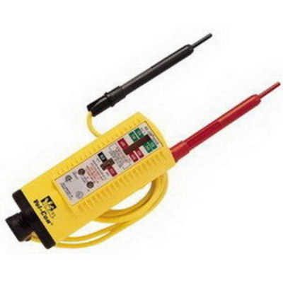 Ideal 61-076 Ideal 61-076 Vol-Con® Voltage Tester/Continuity Tester; 5 - 600 Volt AC, Mechanical With Lights Display