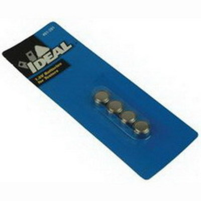 Ideal 61-201 Ideal 61-201 Batteries; 1.5 Volt, For Solenoid Voltage Testers and Volt-Sensor® Non-Contact Voltage Tester
