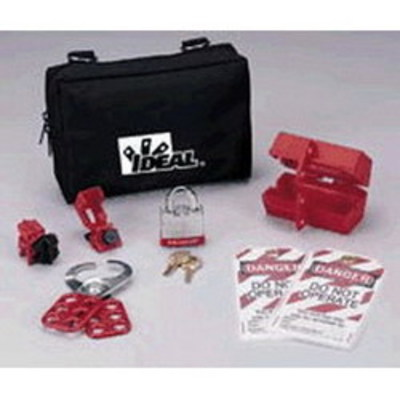 Ideal IA-3240 Ideal IA-3240 Zipper Pouch; For Starter Lockout/Tagout Kit