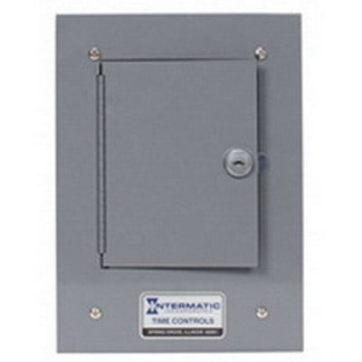 Intermatic 2T308A Intermatic 2T308A Enclosure; 0.063 Inch Steel, Gray, Powder-Coated Paint