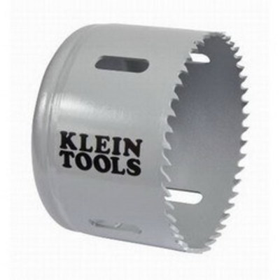Klein Tools 31548 Klein Tools 31548 Great White™ Variable Pitch Hole Saw; 3 Inch, Cobalt Bi-Metal
